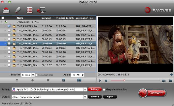 rip dvd to apple tv