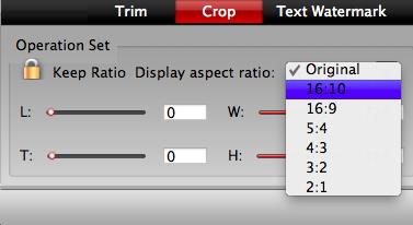 get 16:9 display