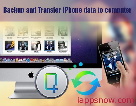 backup and transfer iphone data to computer