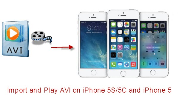 Play AVI on iPhone 5S, iPhone 5C, iPhone 5