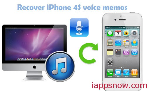 retrieve iPhone Voice Memos from iTunes