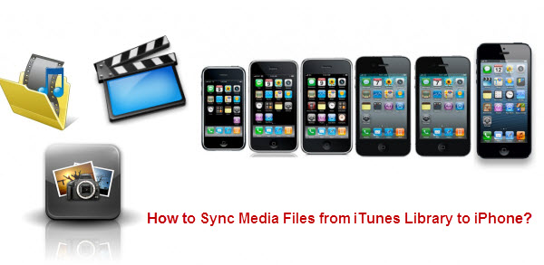 sync media files to iPhone