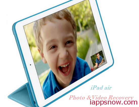 ipad air photo video recovery
