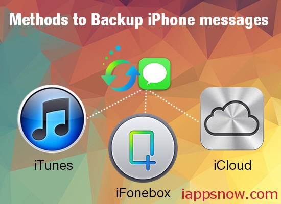 Best method to Backup iPhone Messages