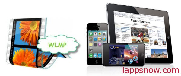 convert wlmp to ipad iphone ipod