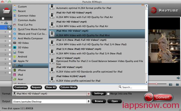 iPad Mini 3/2 format