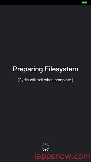 Cydia initializes