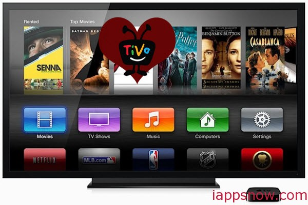 Transfer TiVo video files to Apple TV 3