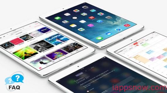 iPad FAQ
