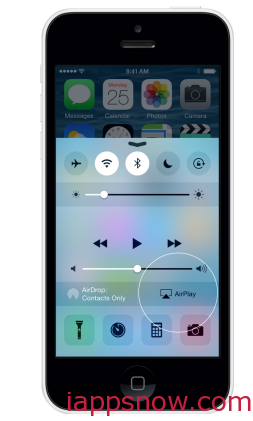 iPhone Airplay Callout