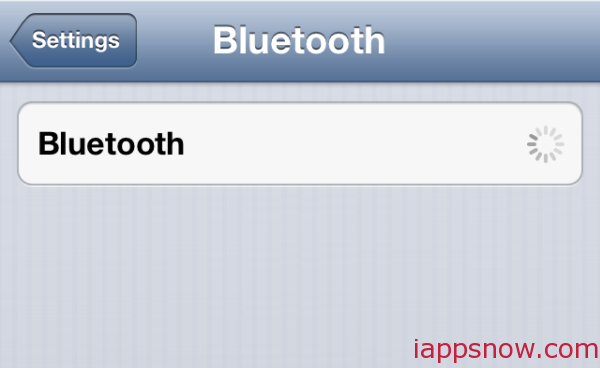 iPhone bluetooth radio not working