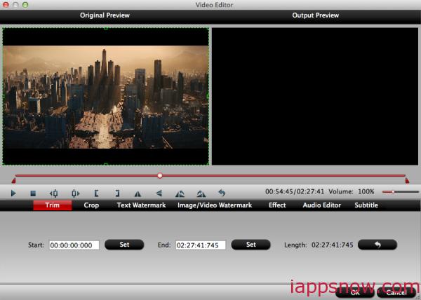 trim DVD audio