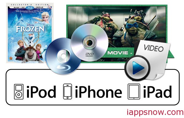 Top 5 Best Video Converter Ultimate Review for iPad/iPhone/iPod