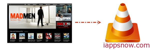 Watch iTunes movies on VLC Media Player