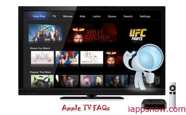 Apple TV FAQs