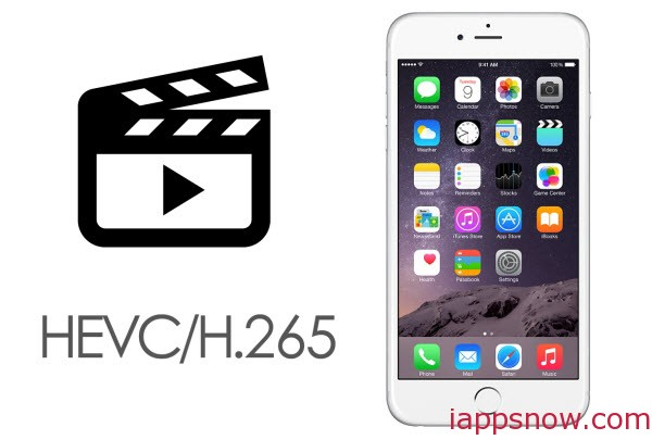 Convert Videos to H.265/HEVC MP4 for iPhone 6
