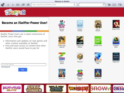 iSwifter Flash Web Browser