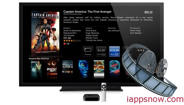 play Movies on Apple TV