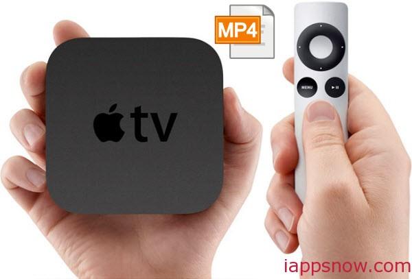 Play MP4 on Apple TV