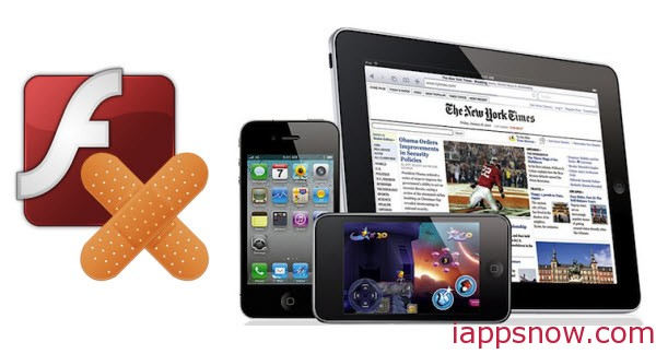 play flash videos on iPhone/iPad/iPod series