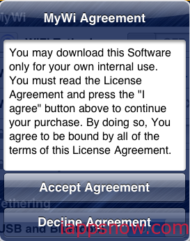 Accept Agreement