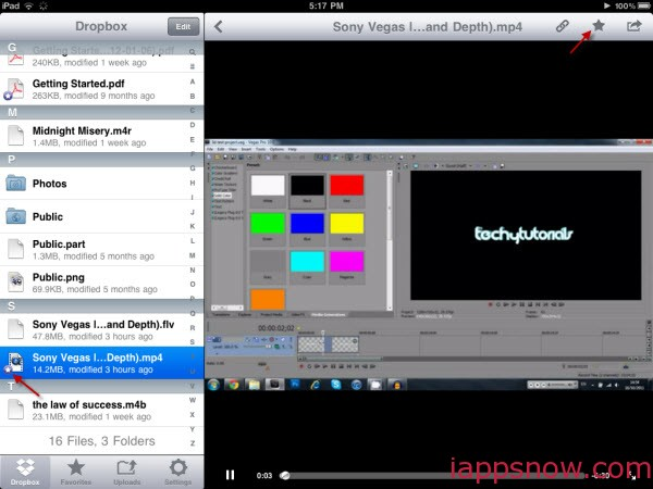 Play YouTube from Dropbox for iPad/iPhone/Android