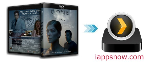 backup Gone Girl Blu-ray into Plex media server for Apple TV