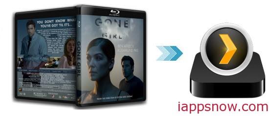backup Gone Girl Blu-ray into Plex media server for Apple TV