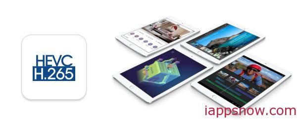 iPad Air 2 H.265/HEVC playback