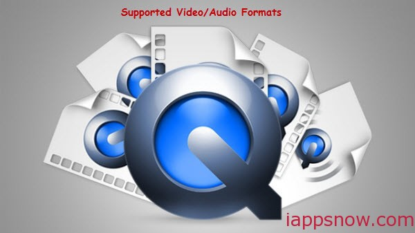 QuickTime Supported Video/Audio Formats