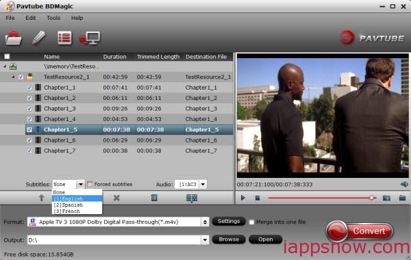 Blu-ray to Plex/ATV Ripper