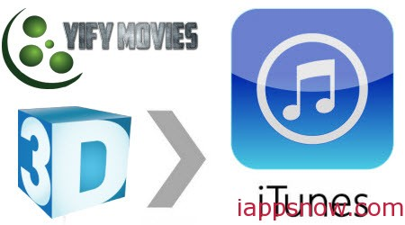 add 3D YIFY movies to iTunes on Mac