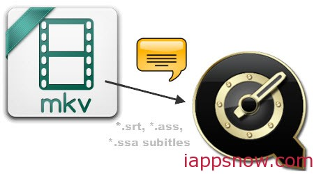 Add Subtitles to MKV for QuickTime Player