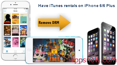 Have iTunes rentals on iPhone 6/6 Plus