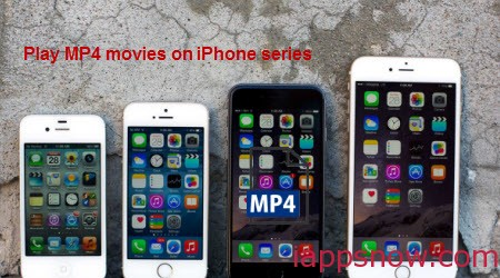 downloaded MP4 on iPhone 6/iPhone 6 Plus/iPhone 5/iPhone 5S/iPhone 4/iPhone 4S