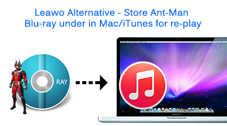 Leawo Alternative – Store Ant-Man Blu-ray under in Mac